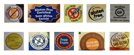 Gluten-Free Symbols