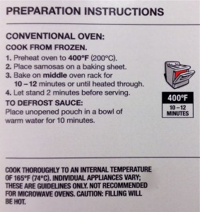 Prep instructions