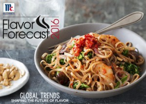 McCormick Flavor Forecast 2016