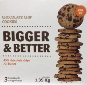 Photo-Choc Chip Cookie Packaging